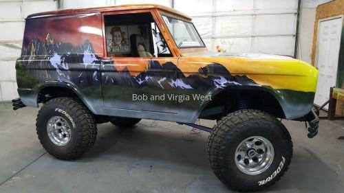 1966 Ford Bronco-Passenger Side