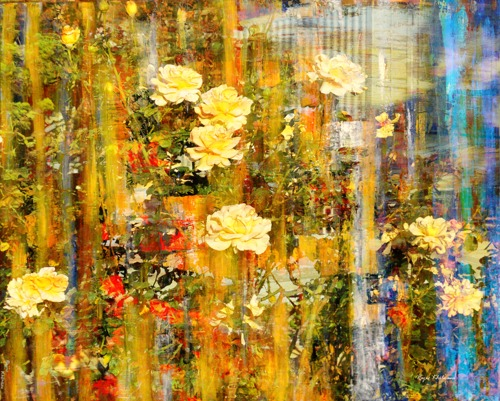 Golden Garden by Rajiv Khilnani - Art
