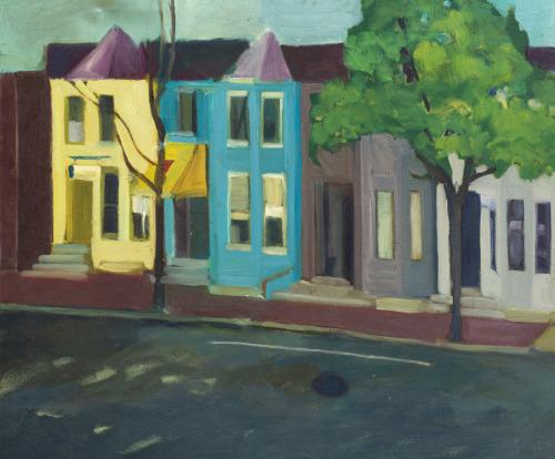 Art Galleries on 1st Street, Richmond, Va.