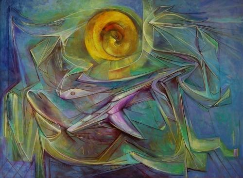 Solar Wind by Ramona R. Mitchell, M.F.A.
