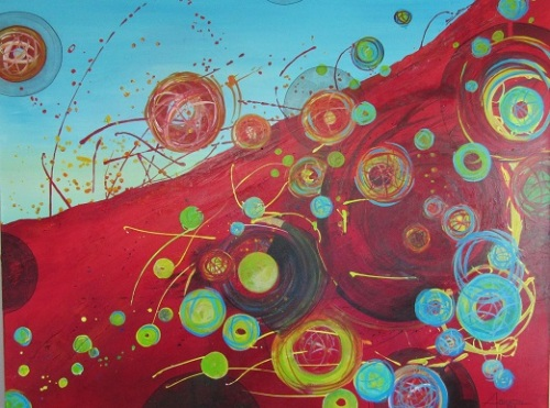 Red Tide - Original Painting