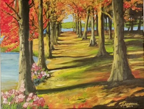 Fall Path - SOLD
