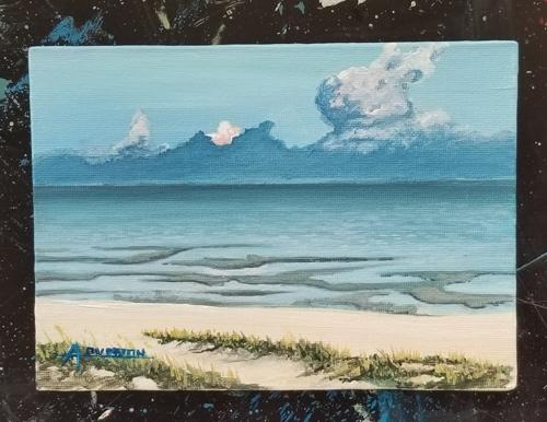 Biloxi low tide