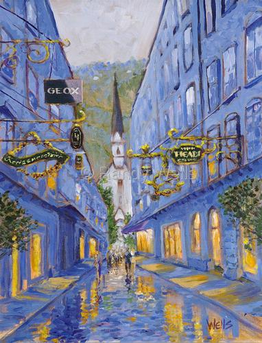 Austrian Gold by Randy Wells | American Impressionism