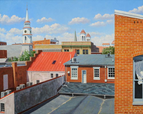 Rooftops by Raymond Burns