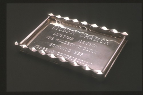 Commemorative Tray