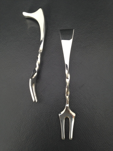 Twisted Cocktail Forks