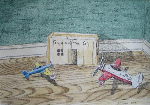 Squadron 6 by Rayna Hanna