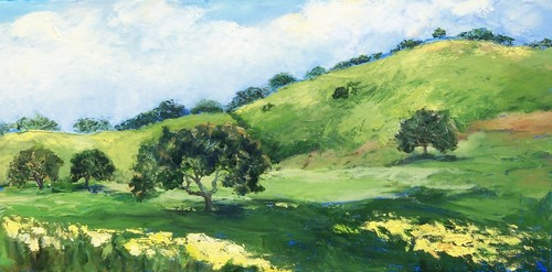 Los Olivos Spring by Rosemary Bandes