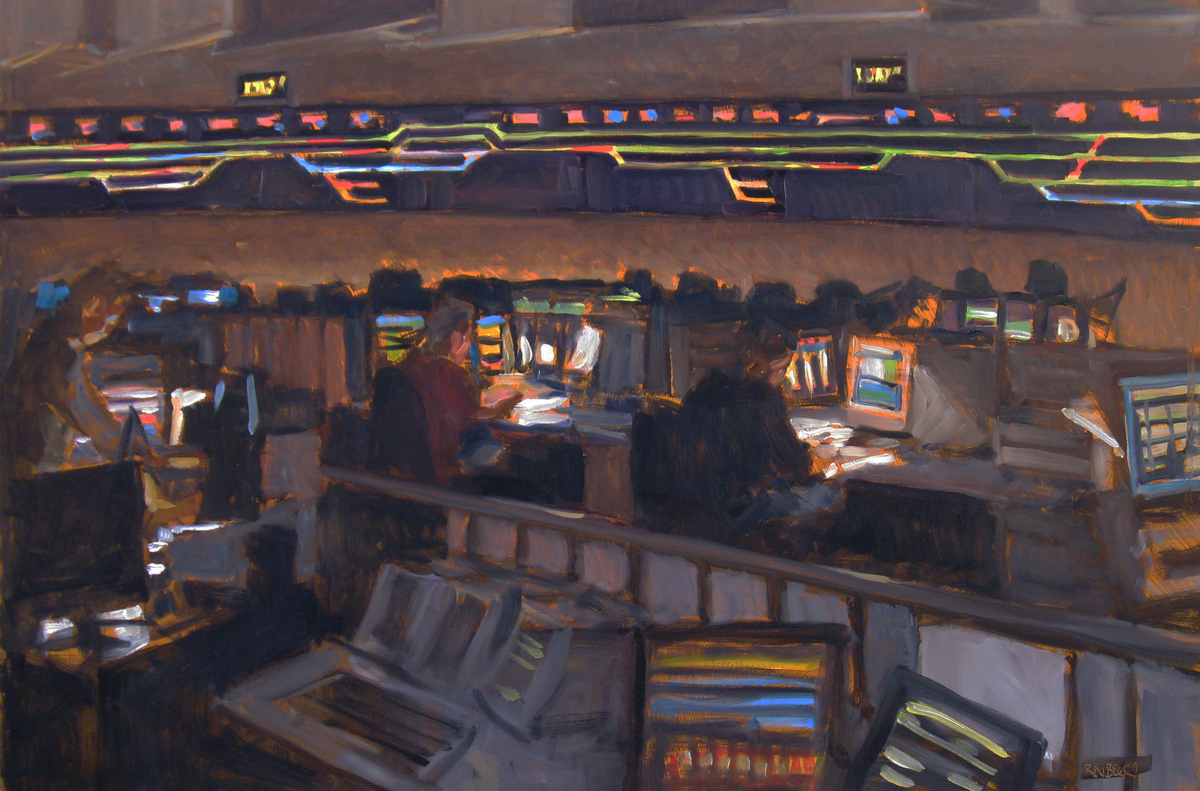 Amtrak Control Room (large view)