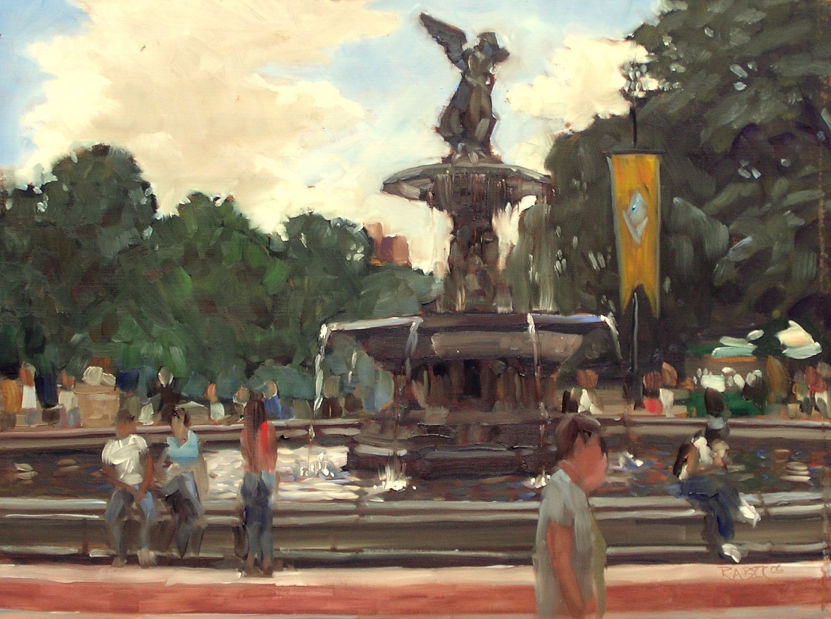 Bethesda Fountain (large view)