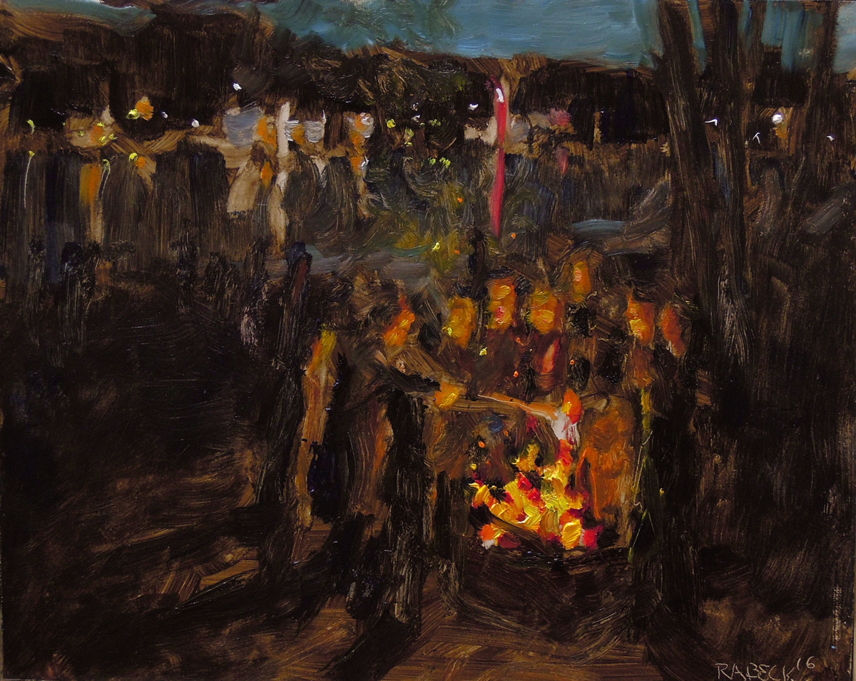 Sock Burning (Robert Beck) (large view)