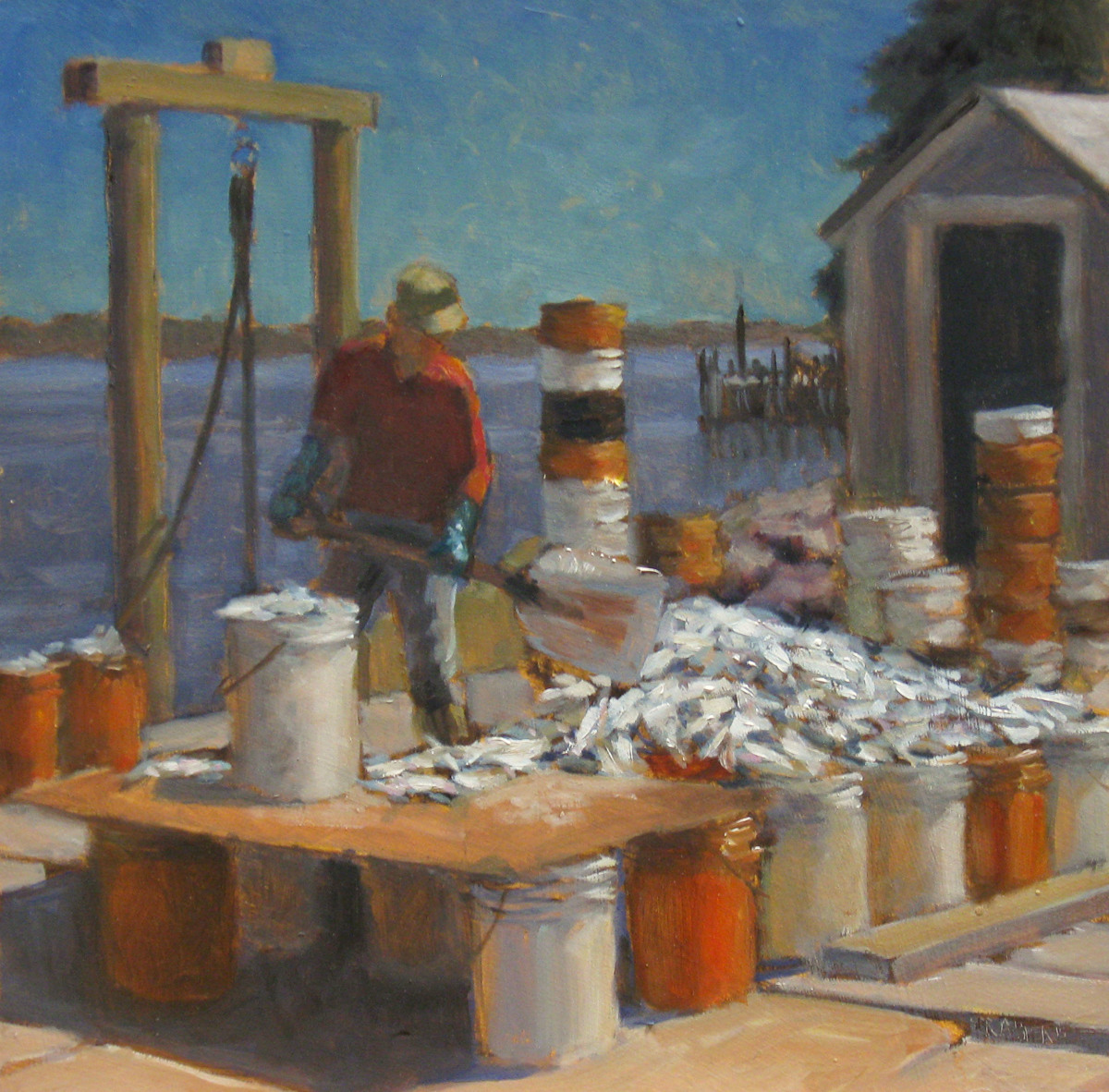 Wharfwork (large view)