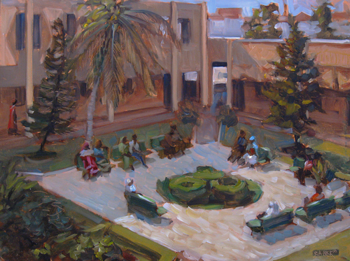 Hospital Courtyard (Dakar) (large view)