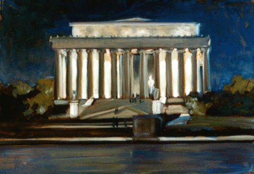 Lincoln Memorial (large view)