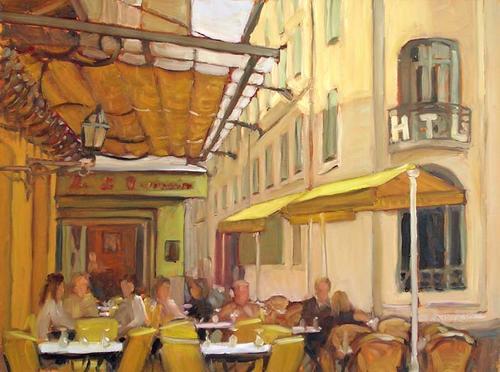 Cafe la nuit, le matin (large view)