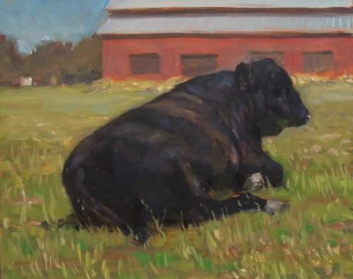 Bull by ROBERT   BECK
