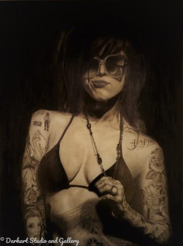 Kat in Black