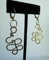 Free Form Gold Earrings (thumbnail)
