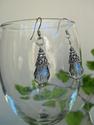 Smoky Crystal Earrings (thumbnail)