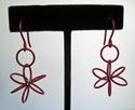 Red Circles Earrings (thumbnail)