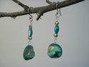 Turquoise Pearl Earrings (thumbnail)