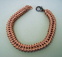 Men's Copper Chain Maille Bracelet (thumbnail)