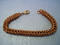 Women's Copper Chain Maille Bracelet (thumbnail)