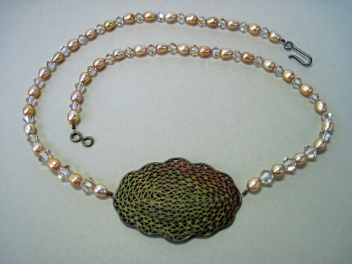 Copper Pendant Necklace