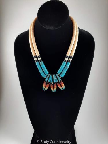 Hummingbird Tail Necklace #1