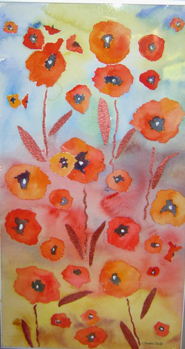 Poppies-SOLD
