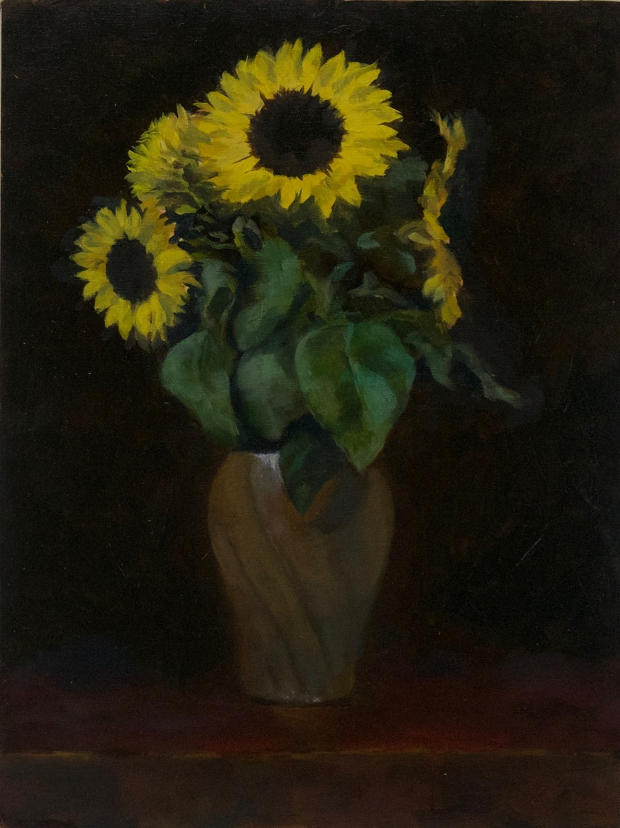 """Sunflowers"" (large view)"