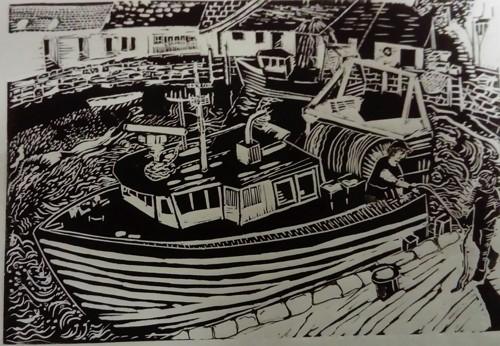 Polperro harbour