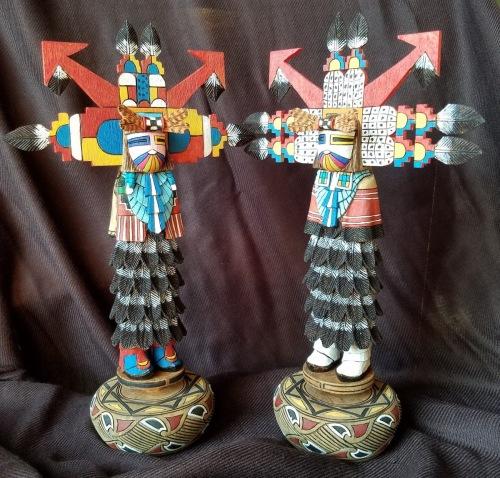 Hopi Shalako Pair
