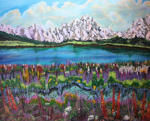 Teton Meadow Morning