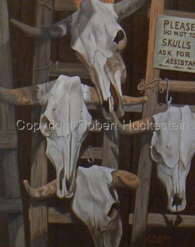 Santa Fe Skulls