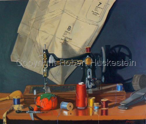 """Sew What?"" by Robert Huckestein"