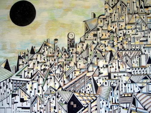 City - 033 by Richard DiGiovanna