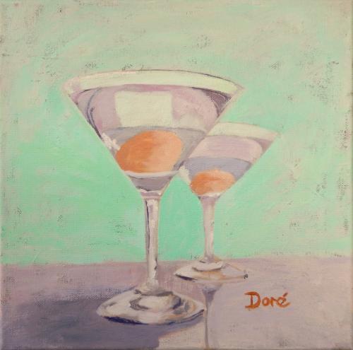 Cocktails by Rhonda Doré Fine Art
