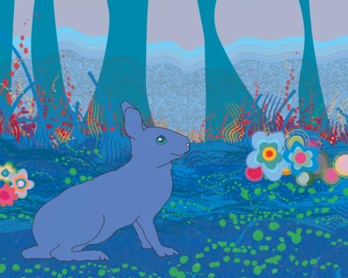 Benjamina the Blue Bunny