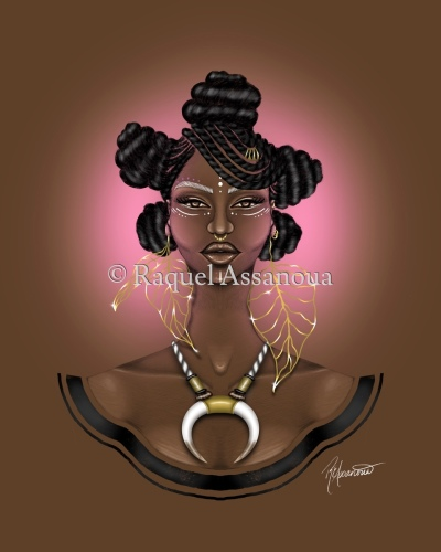 Niya by Art by Raquel Assanoua