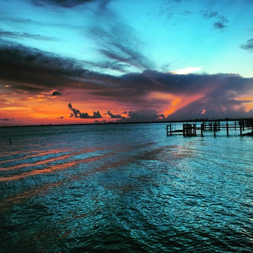 Summer Storm over Florida Keys