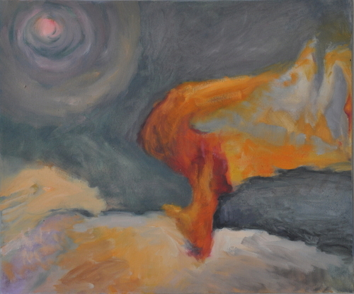 Burning Desert/Die Wueste brennt
