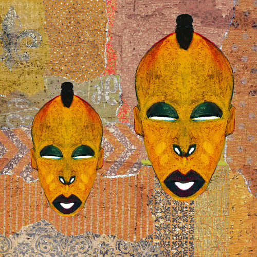 Double Mask Collage