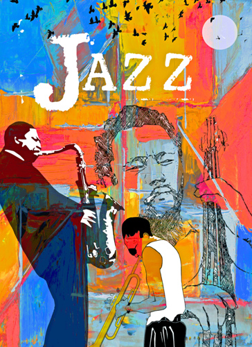 Jazz Greats- Miles. Mingus. Coltrane by Regina Wyatt