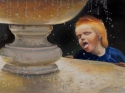 Boy at Fountain of Youth (thumbnail)