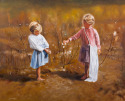 Afternoon in the Cottonfield (thumbnail)