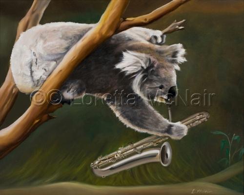 Saxy Koala (large view)
