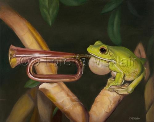 Froggy Woggy Bugle Boy (large view)
