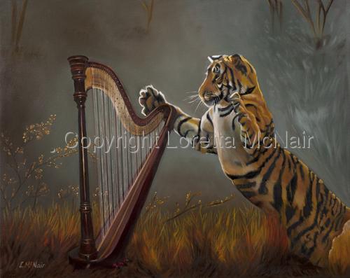Harpin' Tiger (large view)